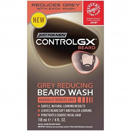 Control GX Gray Reducing Beard Wash - 4 fl oz, pack of 1