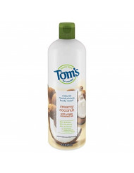 Tom's of Maine Body Wash, Body Wash for Women, Natural Body Wash, Creamy Coconut, 16 Ounce, 1-Pack