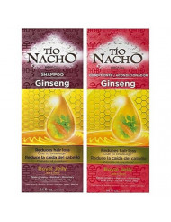 Tio Nacho GINSENG Shampoo & Conditioner Reduce Hair Loss/La Caida Del Cabello