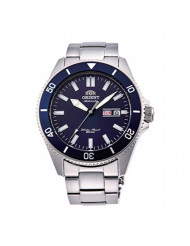 Orient RA-AA0009L Men's Kano Stainless Steel Blue Bezel Blue Dial Automatic Dive Watch