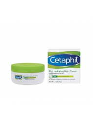 Cetaphil Rich Hydrating Night Cream with Hyaluronic Acid, 1.7 Ounce   ⭐️ Exclusive
