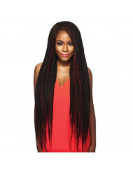 """MULTI PACK DEALS! Outre Synthetic Hair Braids X-Pression Kanekalon 3X Pre Stretched Braid 52"""" (3-PACK, 1B)"""