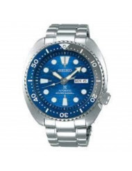 """SEIKO Prospex""""Turtle"""" Save The Ocean Diver's 200M Automatic Blue Dial Steel Watch SRPD21K1"""