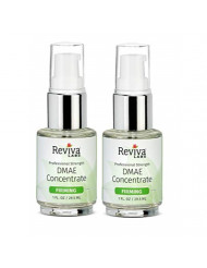 Reviva Labs DMAE Firming Concentrate Serum for Fine Lines and Wrinkles, 1 ounce (Pack of 2)