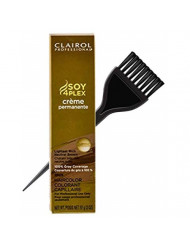 Clairol Soy4Plex Premium PERMANENT CREAM HAIR COLOR (w/Sleek Tint Brush) 100% Gray Coverage Creme Permanente Professional Grey Haircolor (12N Hi-Lift Neutral Blonde)