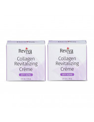 Reviva Labs Anti-Aging Collagen Revitalizing Creme, 2 ounce (Pack of 2)