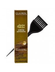 Clairol Soy4Plex Premium PERMANENT CREAM HAIR COLOR (w/Sleek Tint Brush) 100% Gray Coverage Creme Permanente Professional Grey Haircolor DYE (12A Hi-Lift Cool Blonde.)