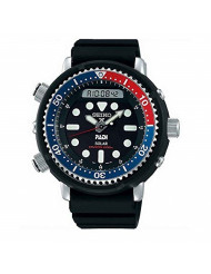 "Seiko Prospex""Arnie"" Re-Issue Sports Solar Diver's 200M Pepsi Bezel Watch SNJ027P1"