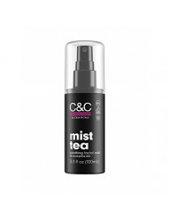 C&C by Clean & Clear Mist Tea Facial Mist, Soothes & Hydrates Acne Prone Skin, With Green Tea Antioxidants, Soy Free, Gluten Free, Vegan, Not Tested On Animals, 3.3 fl oz