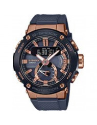 Men's Casio G-Shock G-Steel Connected Black Resin Band Watch GSTB200G-2A