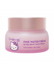 The Creme Shop x Hello Kitty - Pink Water Face Cream, Replenishing, Moisturizing, Antioxidant, Fine Lines & Wrinkles, Glowing Complexion - Korean Skin Care Moisturizer with Hyaluronic Acid, Watermelon