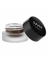 NYX Professional Makeup Gel Eyeliner and Smudger, Charlotte, Brown, 0.11 Ounce