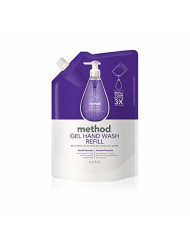 Method Gel Hand Soap Refill, French Lavender, 34 Ounce