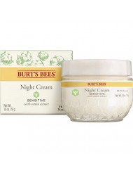 Burt's Bees Night Cream for Sensitive Skin, 1.8 Ounces
