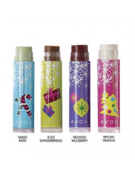 Festive Favorites Lip Balm Frosted Mulberry By Avon