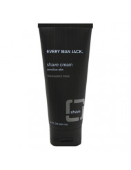 Every Man Jack: Fragrance Free Shaving Cream, 6.7 Ounces