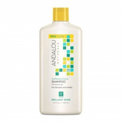 Andalou Naturals Shampoo Shine Snflwr Ctrs, Pack of 3