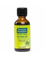 Thursday Plantation Tea Tree Oil, Naturally Sourced Antiseptic Oil, Cleanses and Protects, 1.7 fl oz