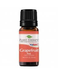 Plant Therapy Grapefruit Pink Essential Oil | 100% Pure, Undiluted, Natural Aromatherapy, Therapeutic Grade | 10 Milliliter (1/3 Ounce)