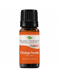 "Plant Therapy Orange Sweet Essential Oil | 100% Pure, Undiluted, Natural Aromatherapy, Therapeutic Grade | 10 Milliliter (â…"" Ounce)"