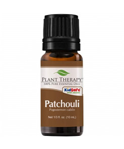 "Plant Therapy Patchouli Essential Oil | 100% Pure, Undiluted, Natural Aromatherapy, Therapeutic Grade | 10 Milliliter (â…"" Ounce)"