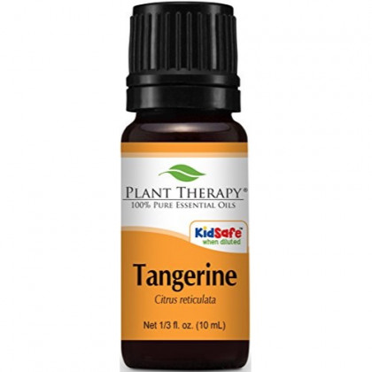Plant Therapy Tangerine Essential Oil. 100% Pure, Undiluted, Therapeutic Grade. 10 ml (1/3 oz)