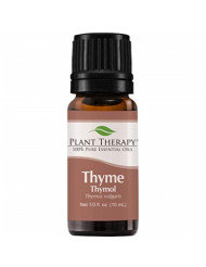 Plant Therapy Thyme Thymol Essential Oil | 100% Pure, Undiluted, Natural Aromatherapy, Therapeutic Grade | 10 Milliliter (1/3 Ounce)