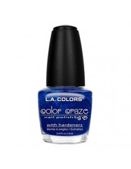 L.A. Colors Craze Nail Polish, Wired, 0.44 Fluid Ounce