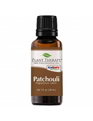 Plant Therapy Patchouli Essential Oil | 100% Pure, Undiluted, Natural Aromatherapy, Therapeutic Grade | 30 Milliliter (1 Ounce)
