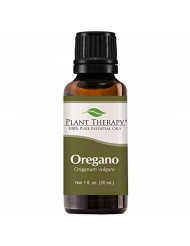 Plant Therapy Oregano Essential Oil 100% Pure, Undiluted, Natural Aromatherapy, Therapeutic Grade 30 mL (1 oz)