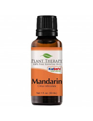 Plant Therapy Mandarin Essential Oil 30 mL (1 oz) 100% Pure, Undiluted, Therapeutic Grade