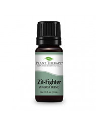Plant Therapy Zit Fighter Synergy Essential Oil 10 mL (1/3 oz) 100% Pure, Undiluted, Therapeutic Grade