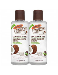 Palmer's Coconut Oil Formula Hair Polisher Serum | 6 Ounces (Pack of 2)