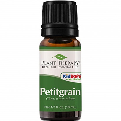 Plant Therapy Petitgrain Essential Oil 10 mL (1/3 oz) 100% Pure, Undiluted, Therapeutic Grade