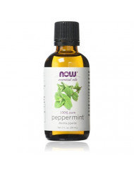 NOW Foods Essential Oils Peppermint, 2 fl oz