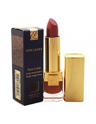 Estee Lauder Pure Color Long Lasting Lipstick Bois De Rose for Women, 0.13 Ounce