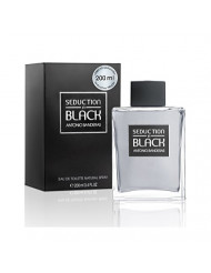 Seduction In Black for Men Eau De Toilette Spray, 6.75 Ounce