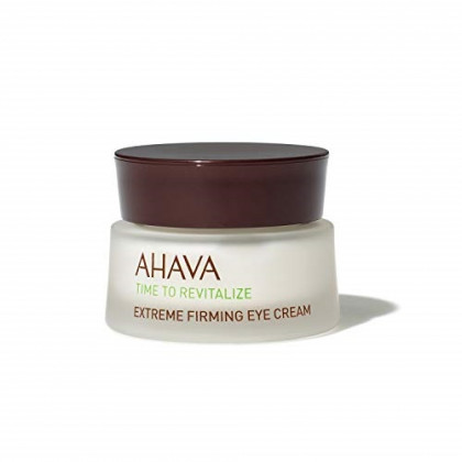 AHAVA Dead Sea Time to Revitalize Firming Eye Cream, 0.5 Fl Oz