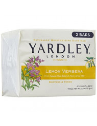 Yardley London Bar Soap - Lemon Verbena with Shea Butter - 4.25 oz - 2 ct