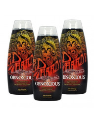Lot 3 Ed Hardy Obnoxious Indoor Tanning Lotion Accelerator Bronzer Dark Tan Bed