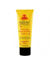 The Naked Bee Pomegranate & Honey Hand And Body Lotion, 2.25 Ounce (Packaging May Vary)