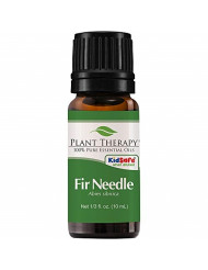 Plant Therapy Fir Needle Essential Oil 10 mL (1/3 oz) 100% Pure, Undiluted, Therapeutic Grade