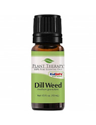 Plant Therapy Dill Weed Essential Oil 10 mL (1/3 oz) 100% Pure, Undiluted, Therapeutic Grade