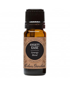 Edens Garden Anxiety Ease Essential Oil Synergy Blend, 100% Pure Therapeutic Grade (Highest Quality Aromatherapy Oils- Anxiety & Stress), 10 ml