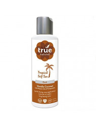 True Natural Tropical Tan, Organic Self Tanner, Dark, 3.4 Ounce