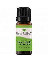 Plant Therapy Nature Shield Essential Oil Synergy | Natural Insect Repellent Blend | 100% Pure, Undiluted, Natural Aromatherapy, Therapeutic Grade | 10 milliliter (1/3 ounce)