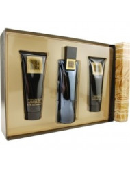 Bora Bora By Liz Claiborne Gift Set - 3.4 Oz Cologne Spray + 3.4 Oz Body Moisturizer + 3.4 Oz Hair & Body Wash Men