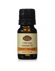 Sweet Orange 100% Pure, Undiluted Essential Oil Therapeutic Grade - 10 ml. Great for Aromatherapy!