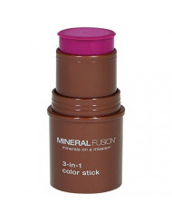 Mineral Fusion Berry Glow 3 In 1 Color Stick, 0.18 Oz
