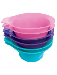 Soft 'N Style Tint Bowl, Assorted Colors, 6 Piece